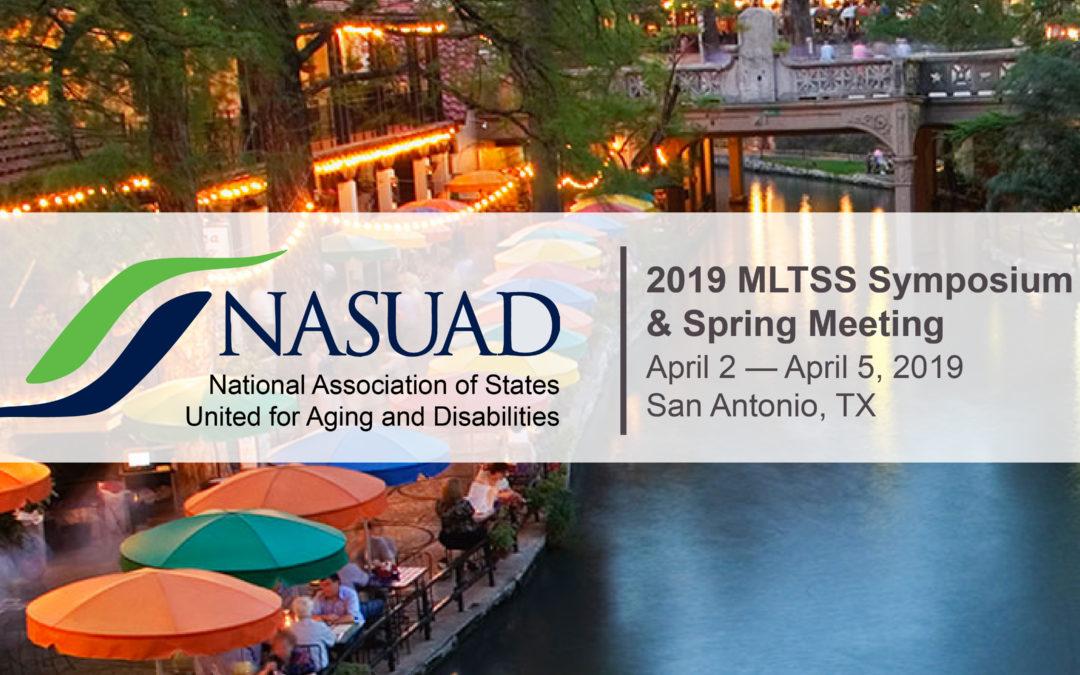 2019 NASUAD MLTSS Symposium & Spring Meeting