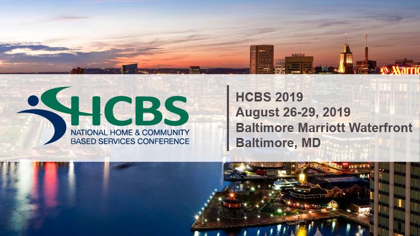 HCBS '19